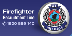 Firefighter Recruitment Line 1800 889 140