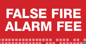 False Fire Alarm Fee