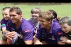 Fremantle Dockers star Des Headland will encourage school children in the Kimberley not to play with lighters and matches during bushfire season.