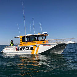 Port Hedland-Rescue boat
