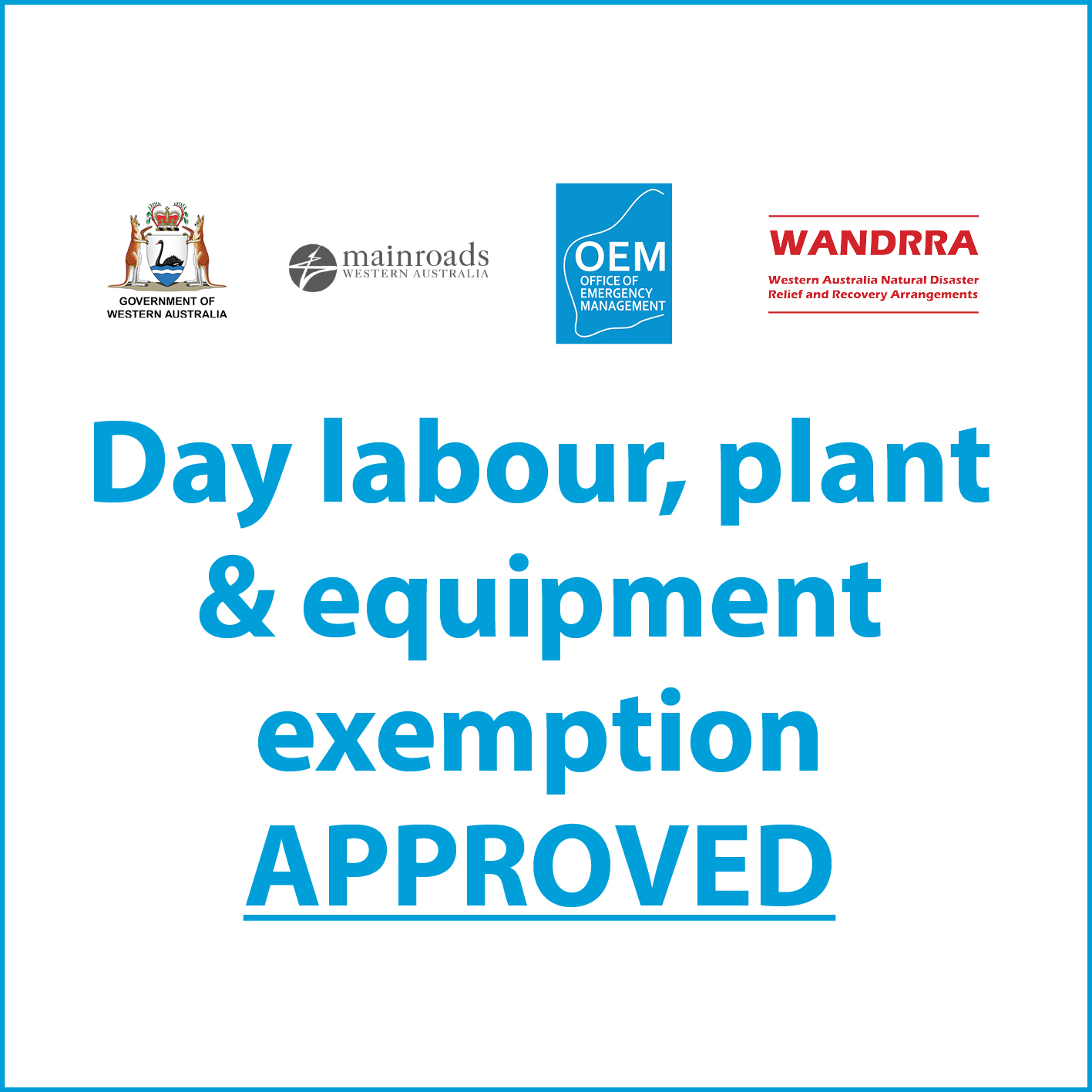 Labour Plant Equipment Exemption Approved