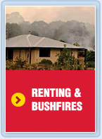 Renting and bushfires