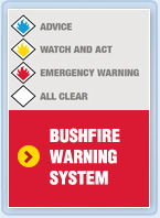 Bushfire warning system