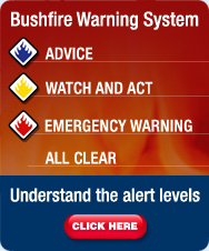 Click here to understand the Bushfire Warnings Levels
