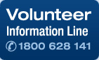 Volunteer Recruitment line 1800 628 141